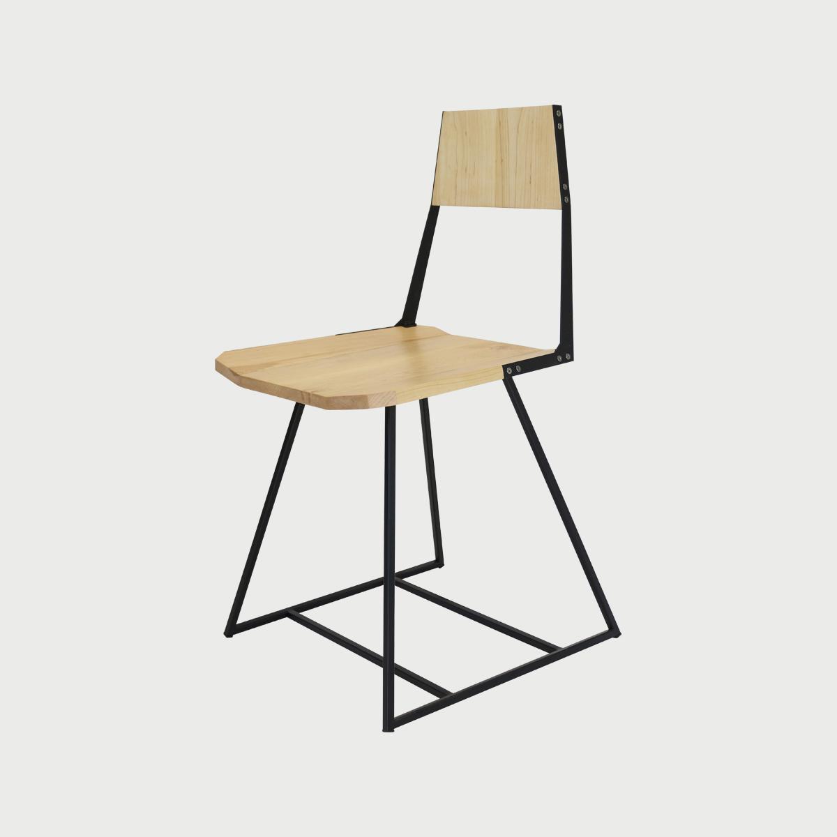 Chair maple black1  281 29