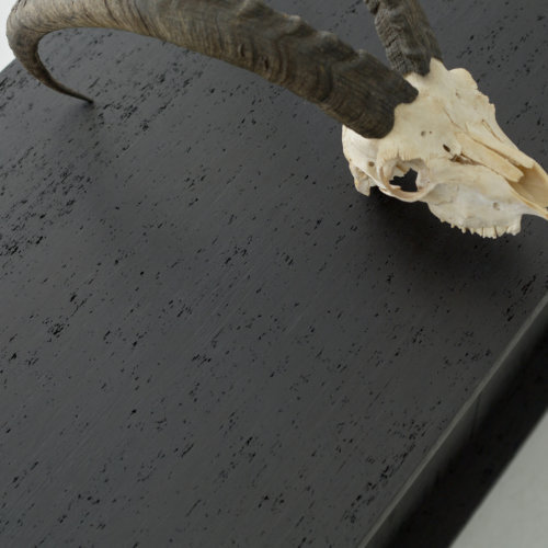 Black compressed hardwood 500x500
