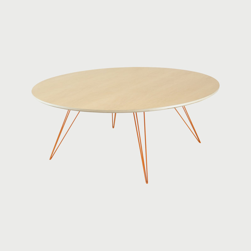 Williams coffee maple lg circle orange  281 29