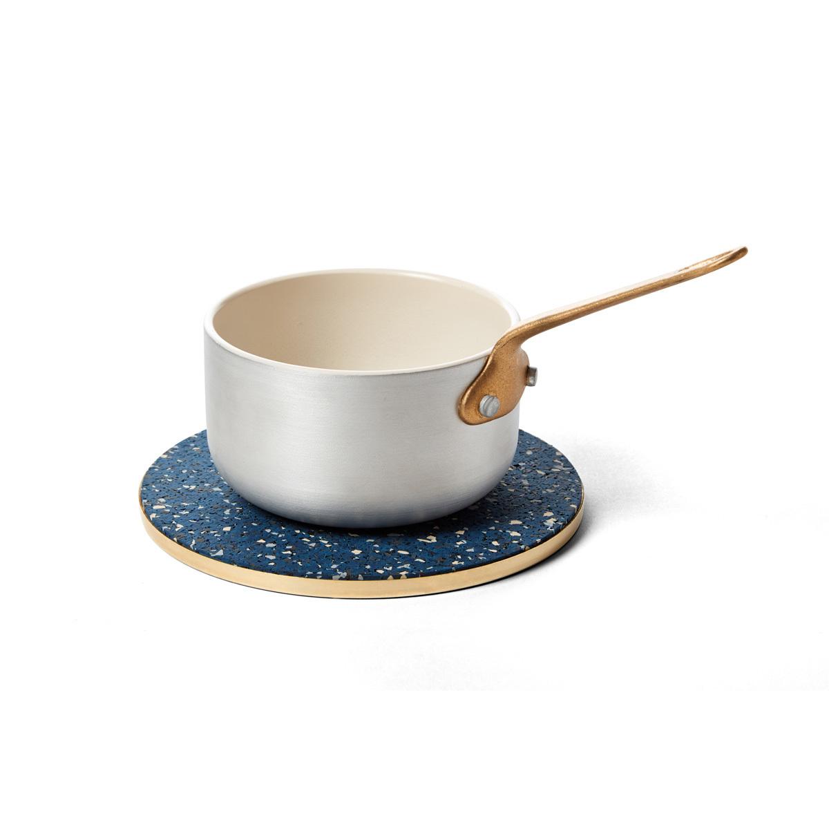 Brass rubber trivet royal pot slash objects web