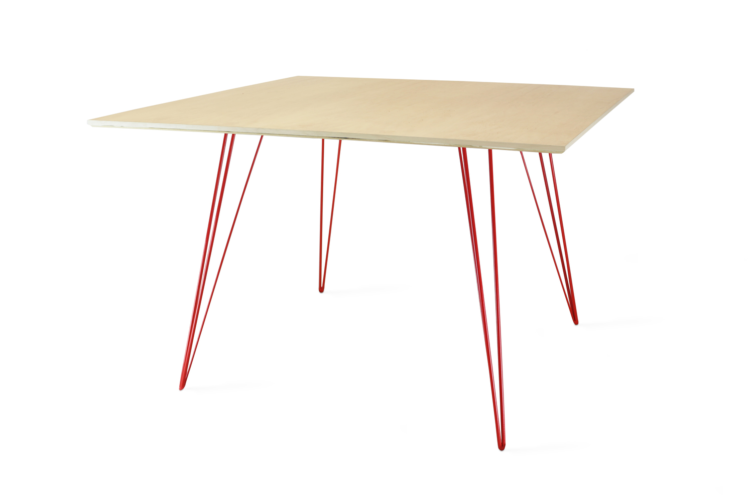 Williams dining maple lg sq red