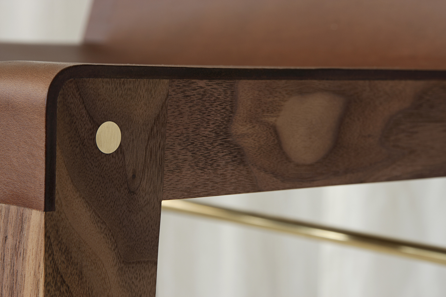 Asher israelow lincoln stool detail