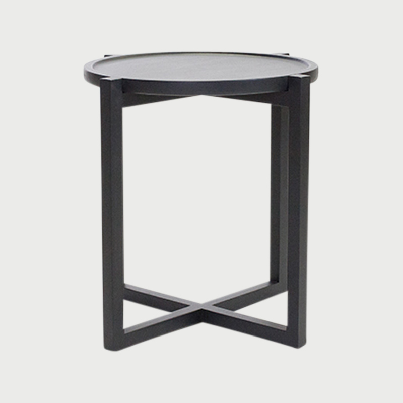 Boton table 3 black stain  282 29