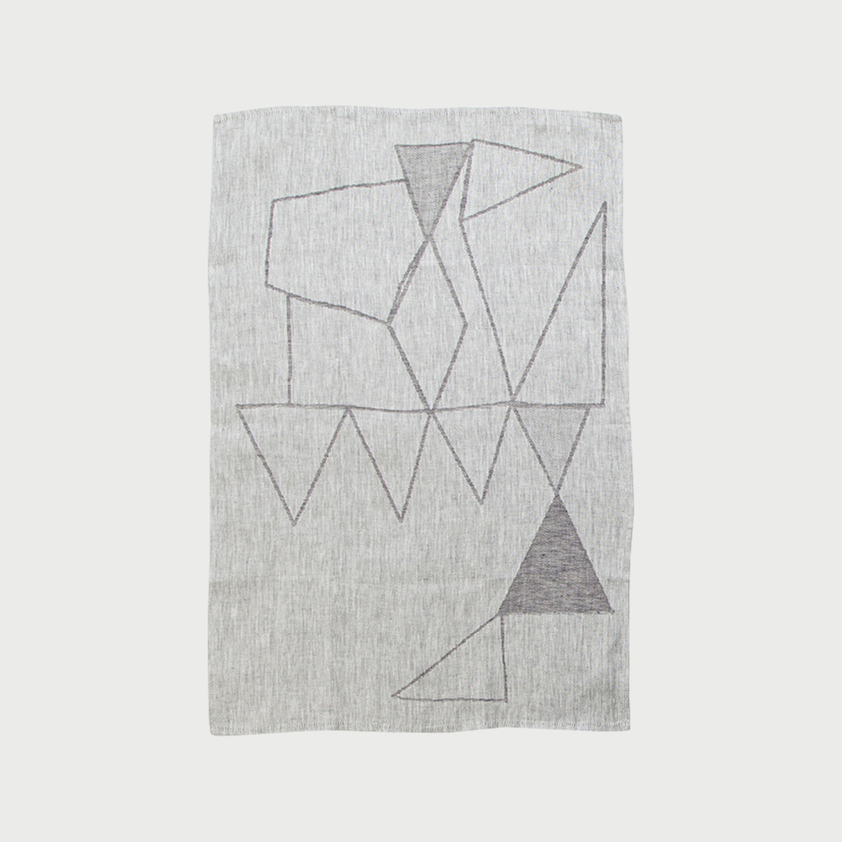 Alyson fox tea towels teepee grey