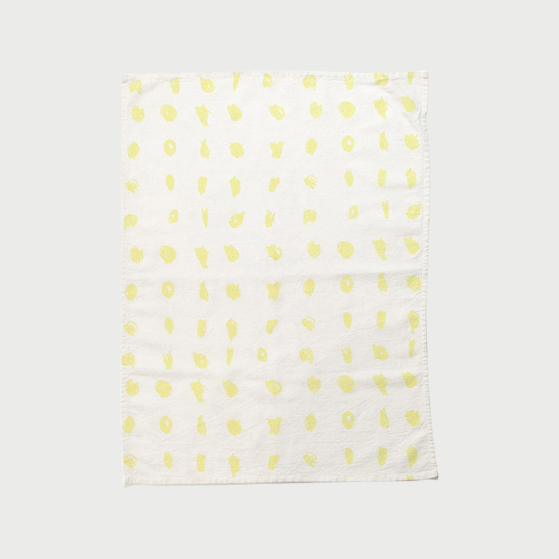 Alyson fox tea towels dots color