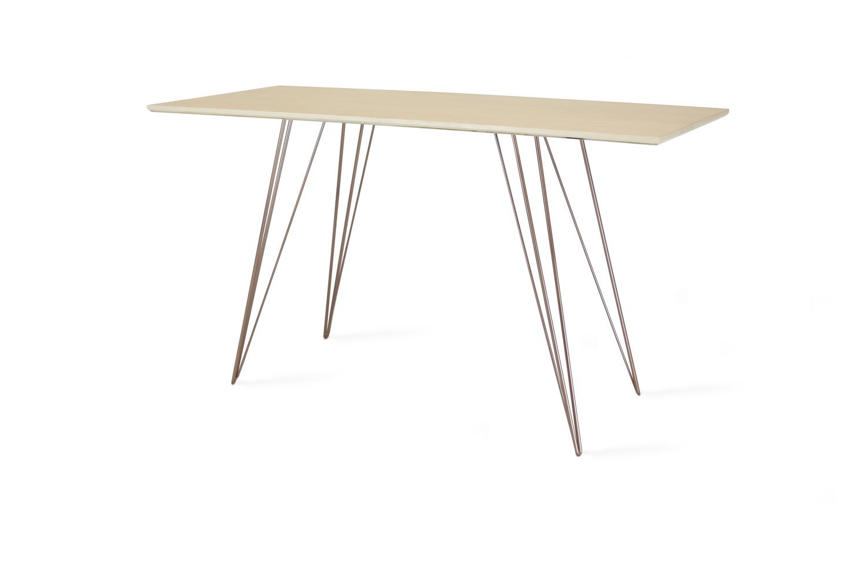 Williams desk maple copper