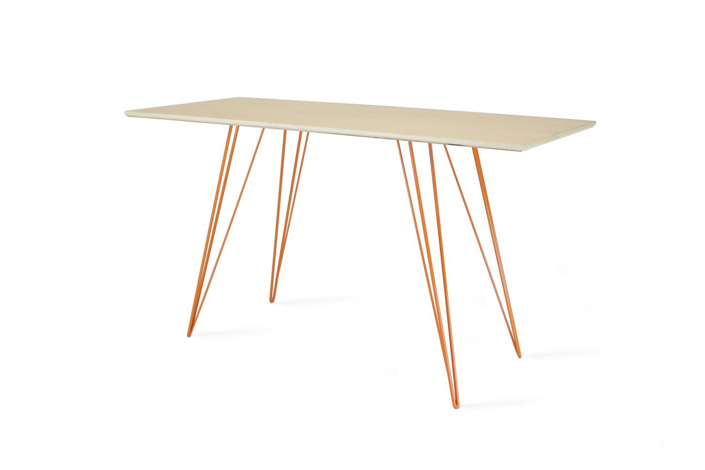 Williams desk maple orange