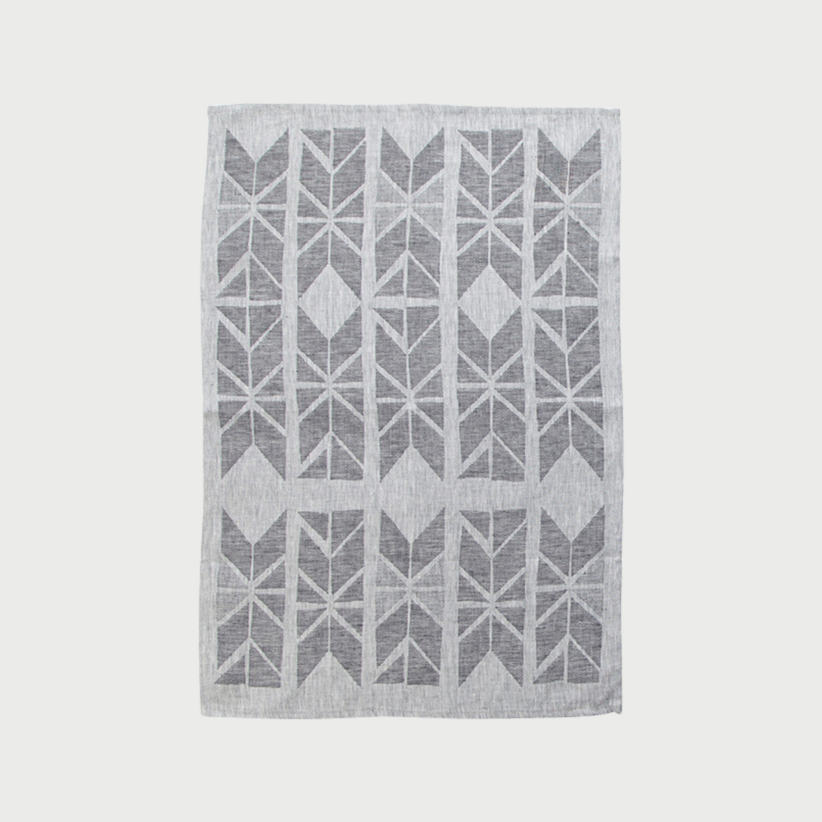 Alyson fox tea towels flags grey