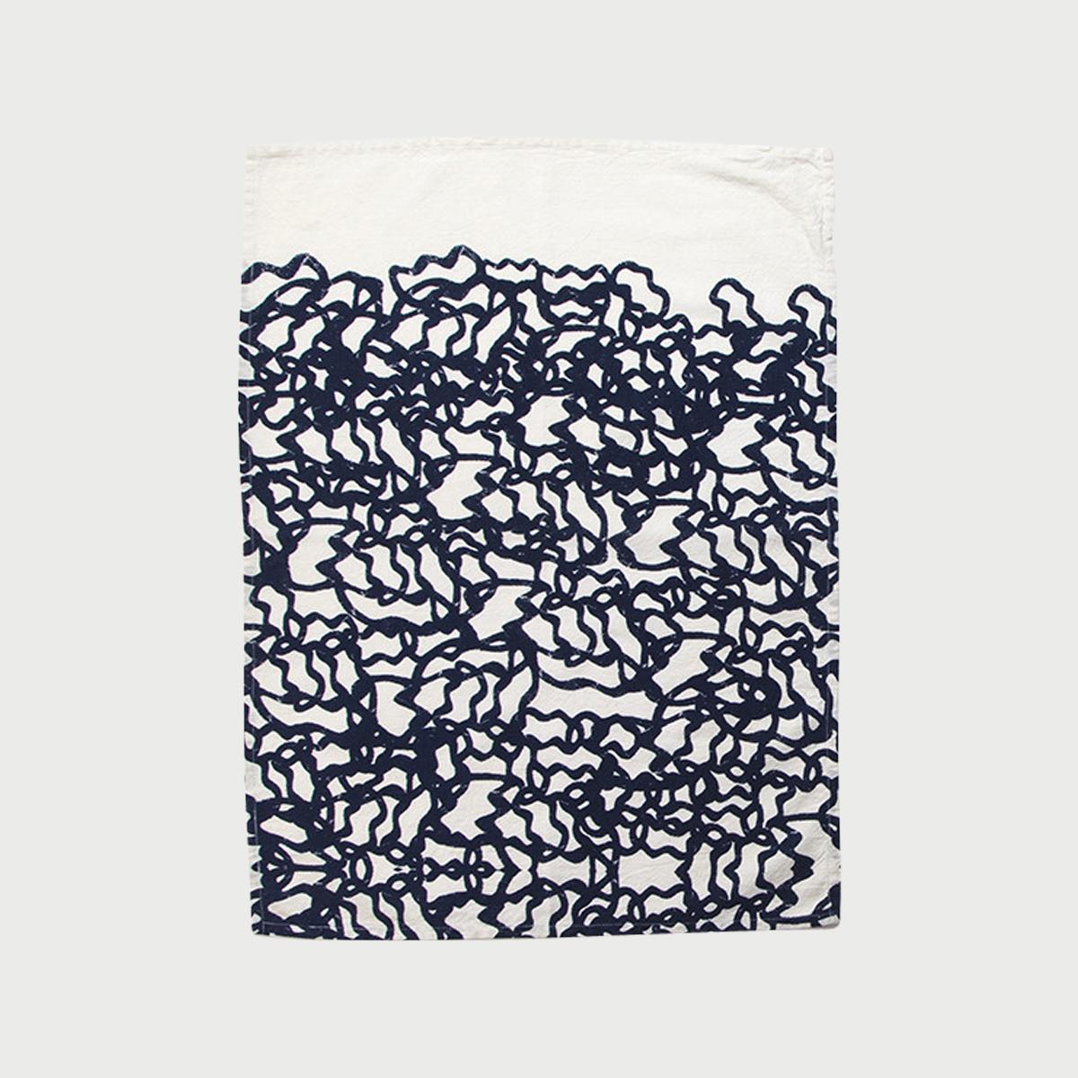 Alyson fox tea towels pool color