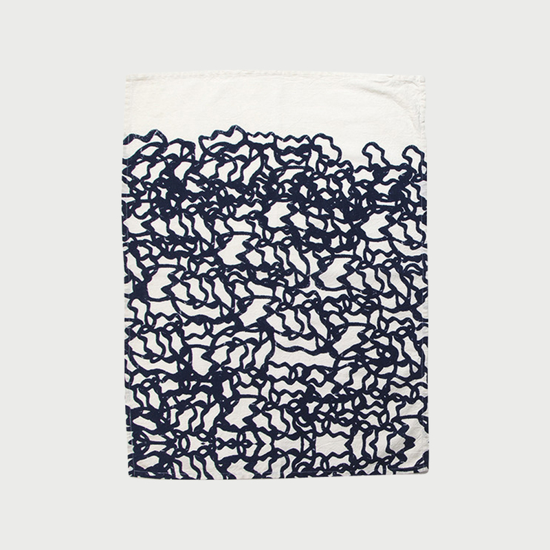 Alyson fox tea towels pool color