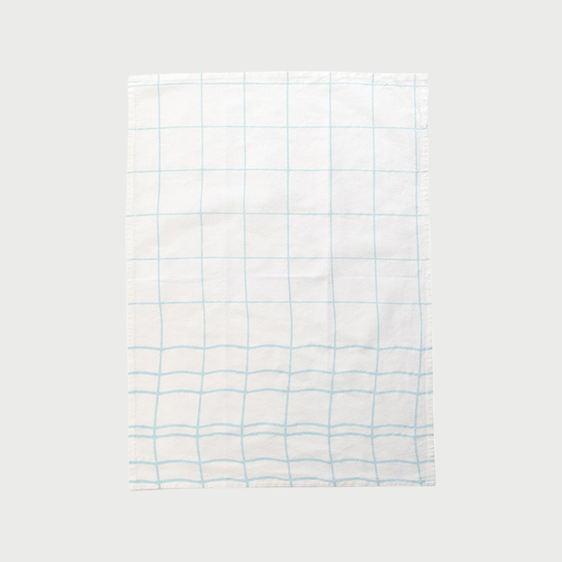 Alyson fox tea towels grid color