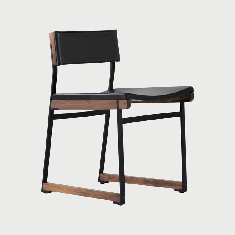 Catenary dining chair  solid seat 2