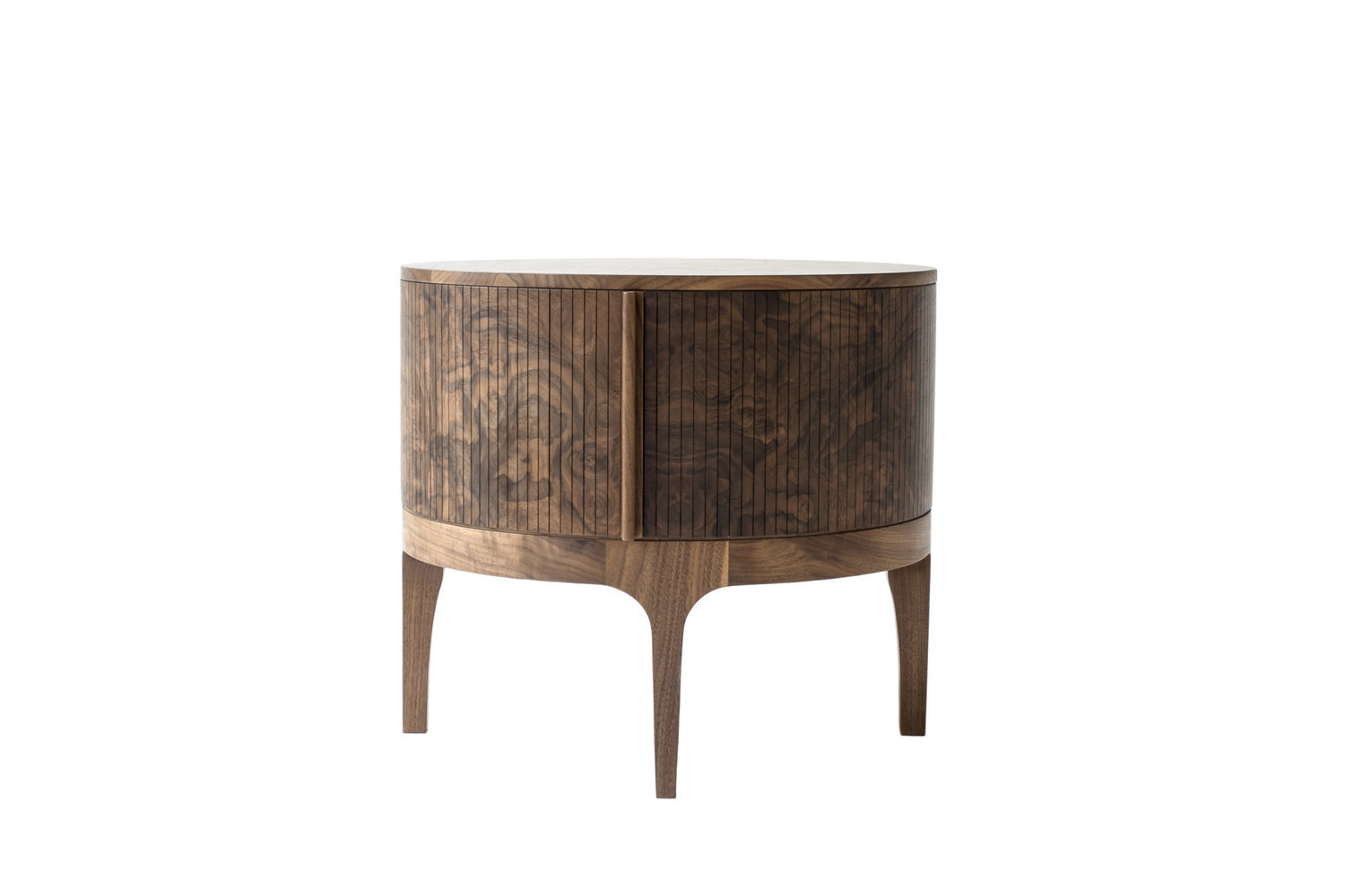Tambour side table 1