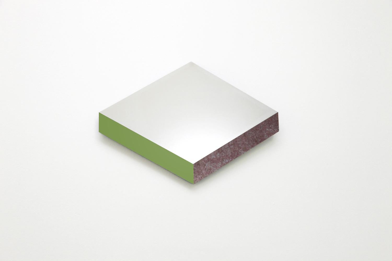 Isogrid mirror 03 green