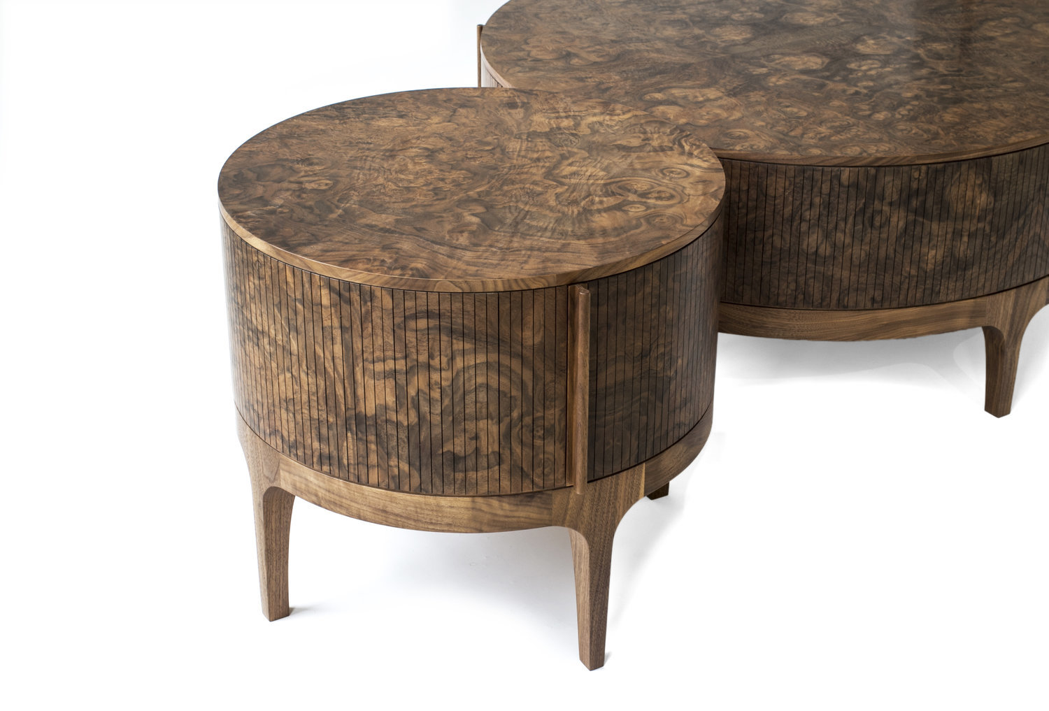Tambour coffee table 6