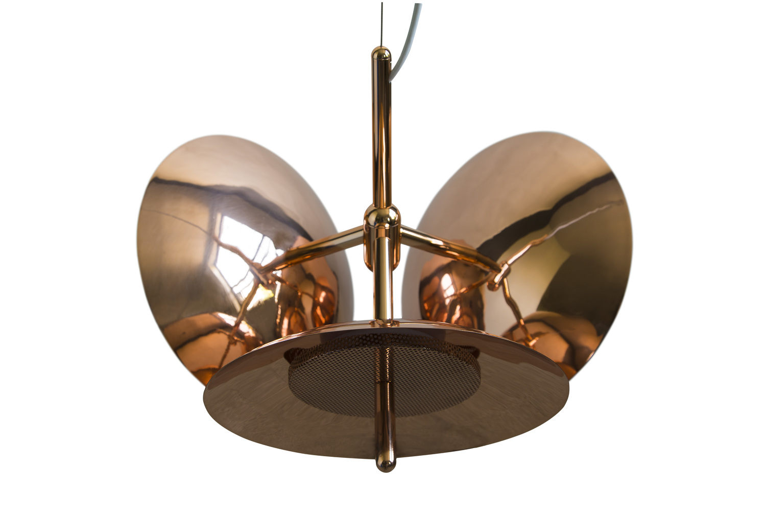 2 copper signal contemporary led chandelier 3