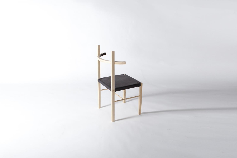 Soren chair blond ash ebony leather3 copy