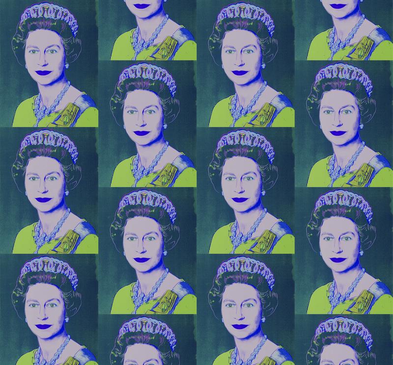 Queen elizabeth teal.product