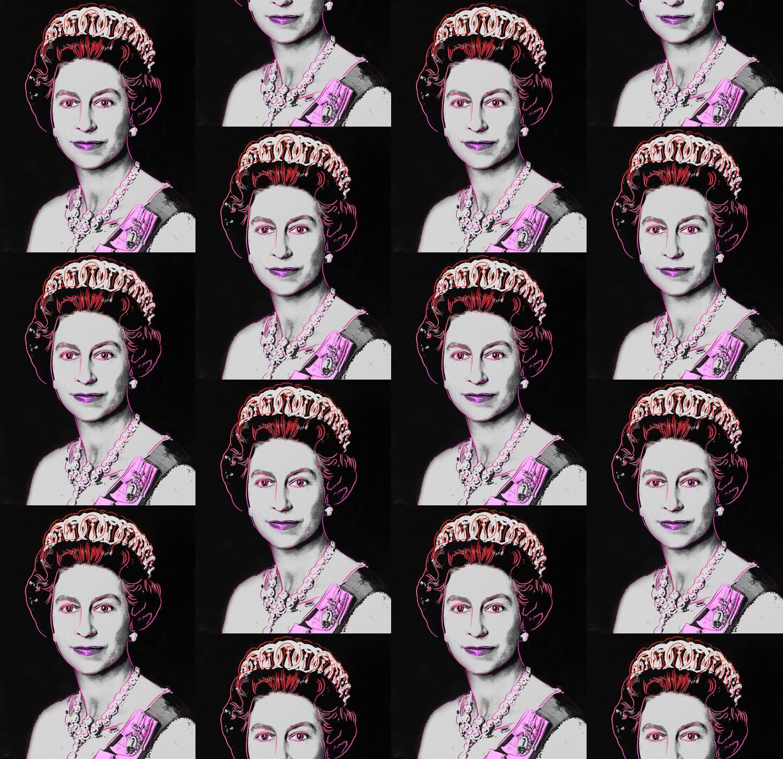 Queen elizabeth neon grey.product
