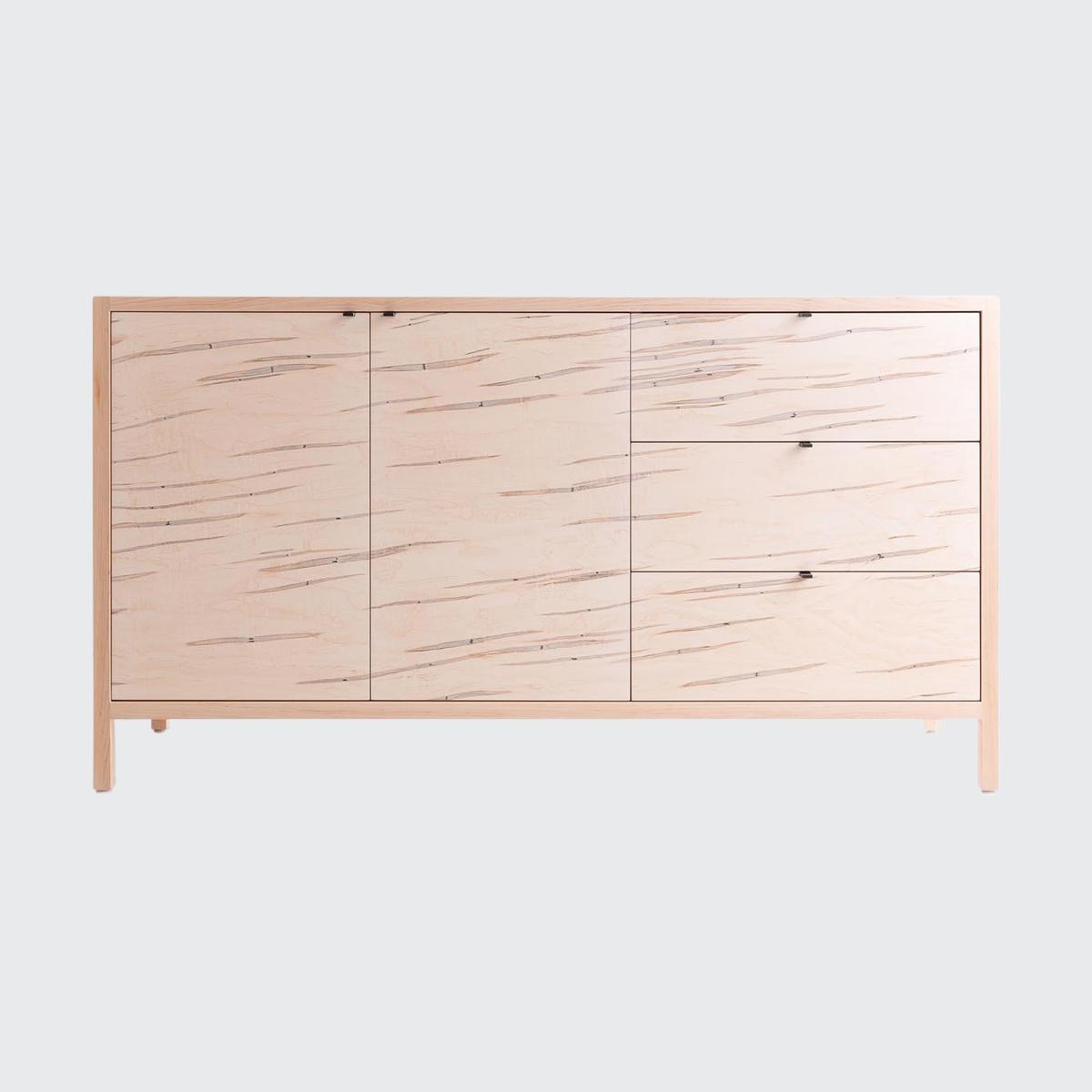 Laska Credenza Two Door Three Drawers Workof