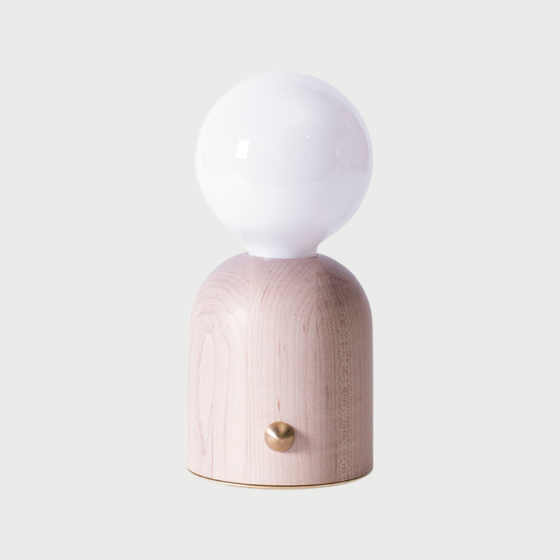 Domos lamp mini 1 front pure white sq