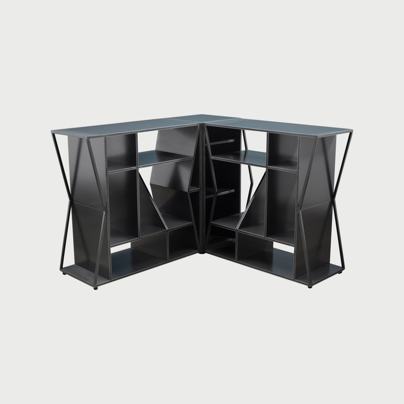 Meridian modular credenza corner clean