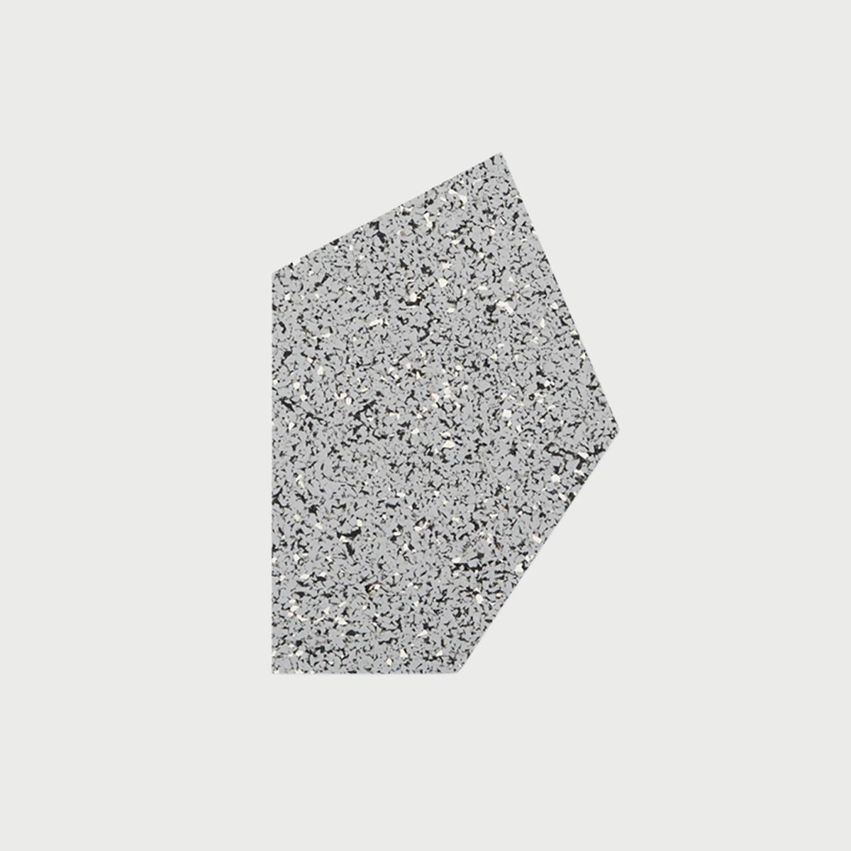 Mouse pad top gris slash objects web