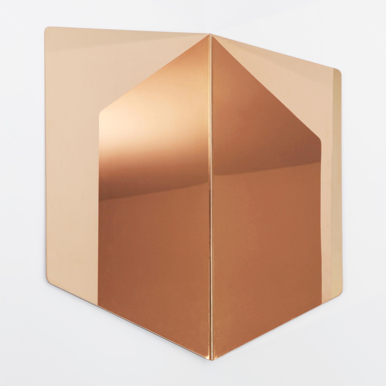 Hex mirror 10 copper