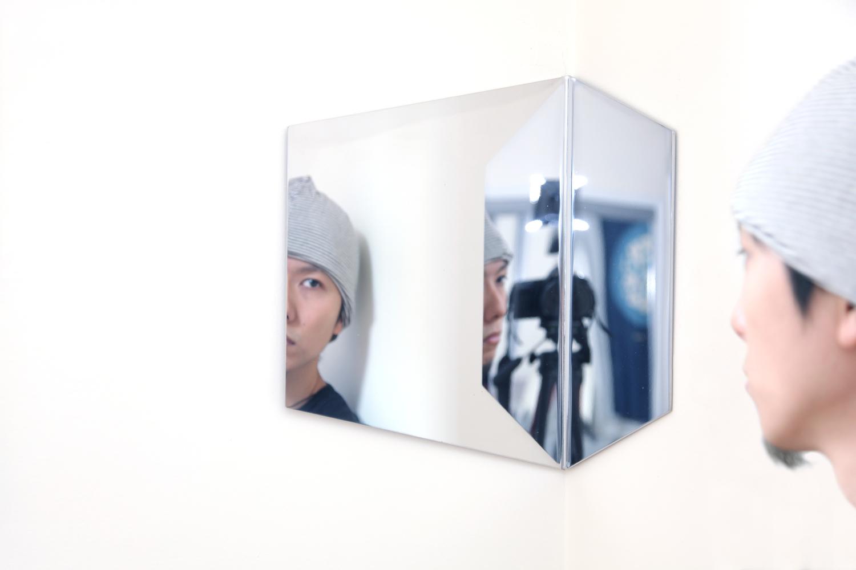 Hex mirror 09 silver