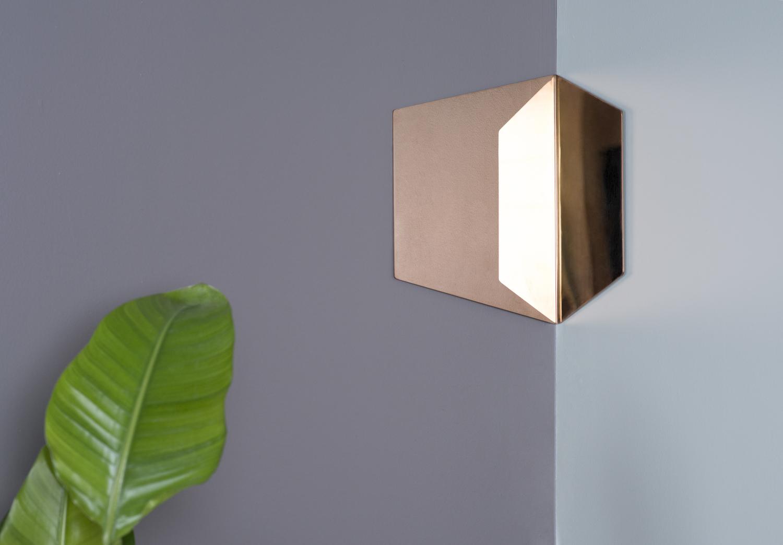 Hex mirror 12 copper