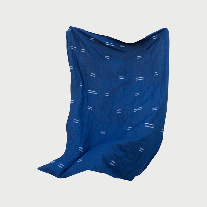 Czh oaxaca indigo throw x2000