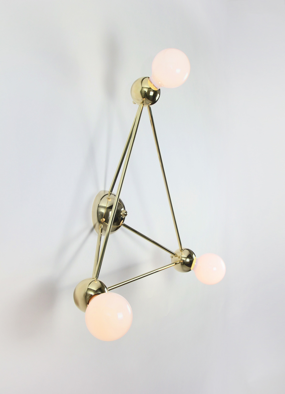 Rosielistudio lina 03 triangle flushmount polishedbrass 03