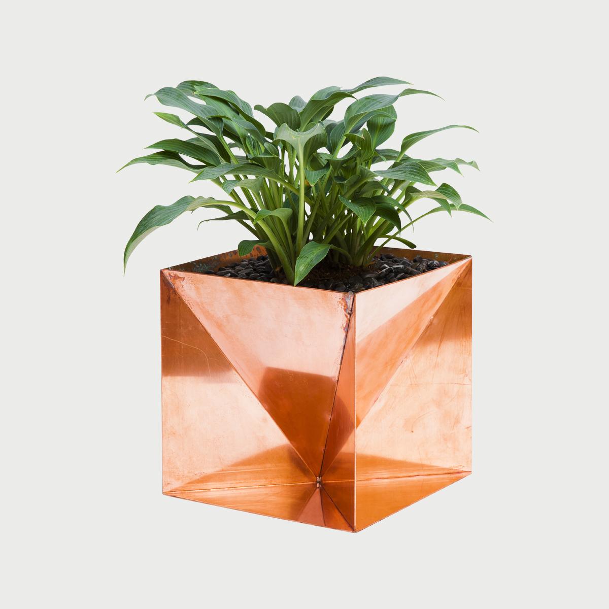 Origamiplantercopper
