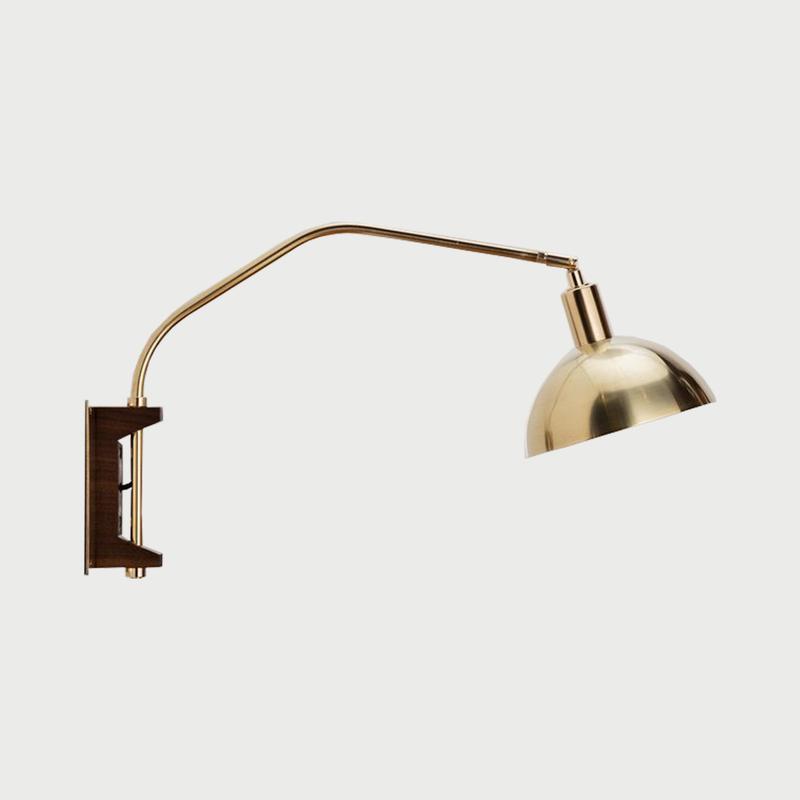 Crescent wall lamp hero