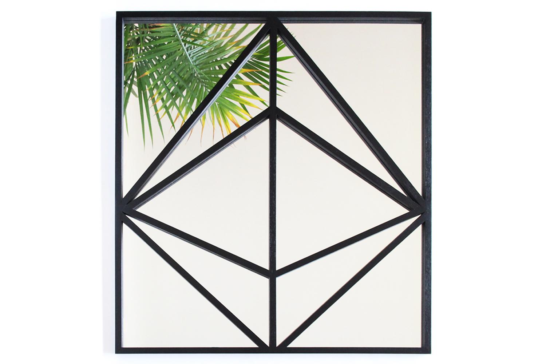 Prism mirror w palm
