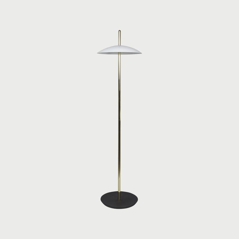 Signal floor light brasswhite shaun kasperbauer