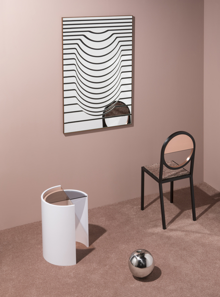Contour side table set with glass tops   photo by charlie schuck   1