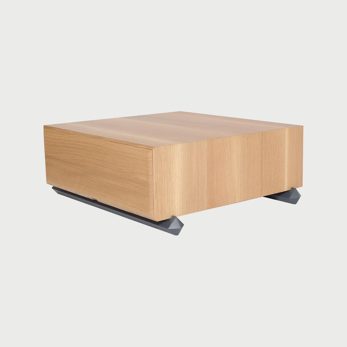 Stack coffee table 3qtr