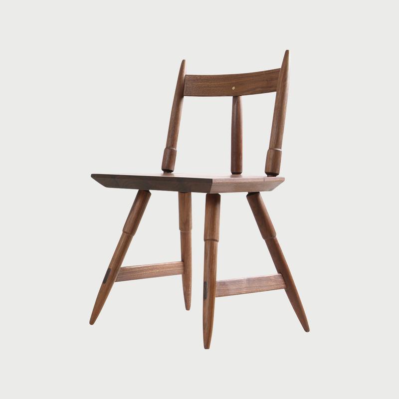Rockport chair walnut studio dunn