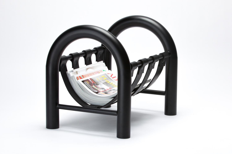 Tubular magazine rack 1