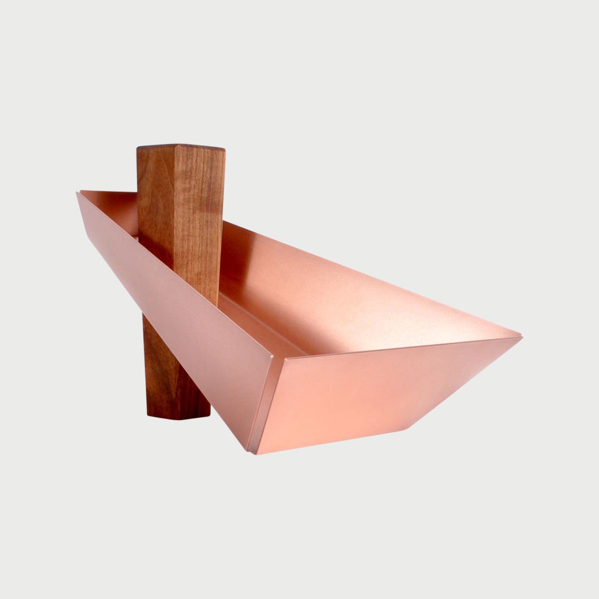 Margo walnut copper