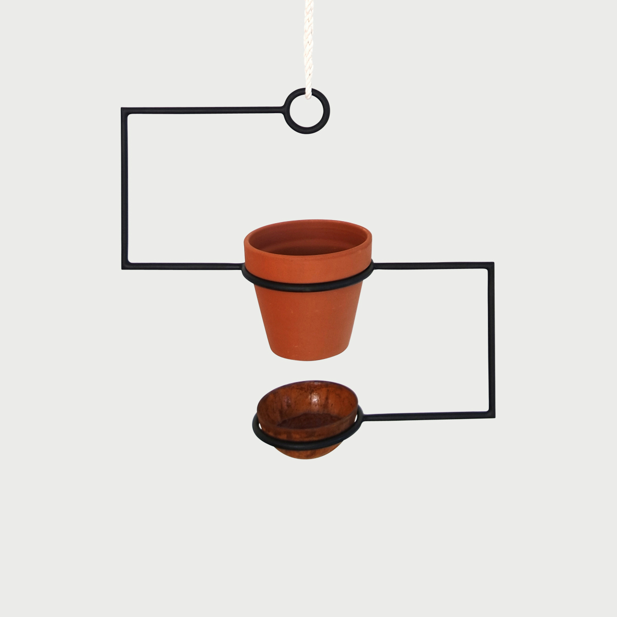 Line planter without plant