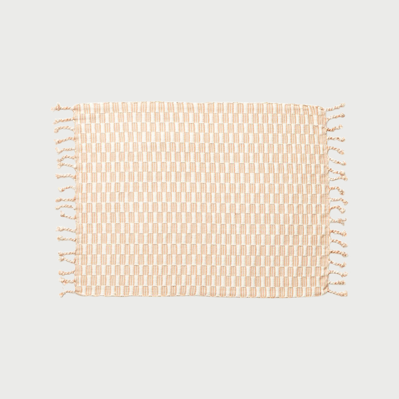 Minna panalito placemat peach