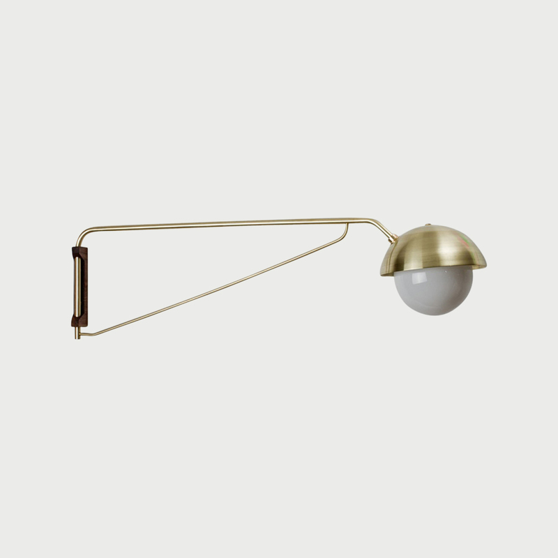 Dome wall lamp   long