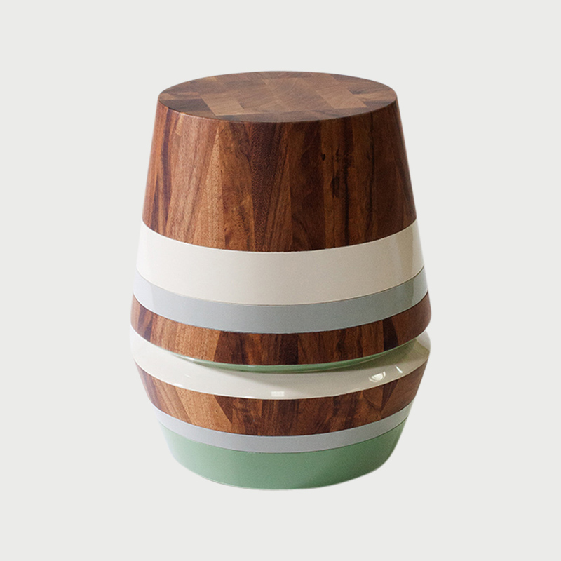 Capirucho stool stripes