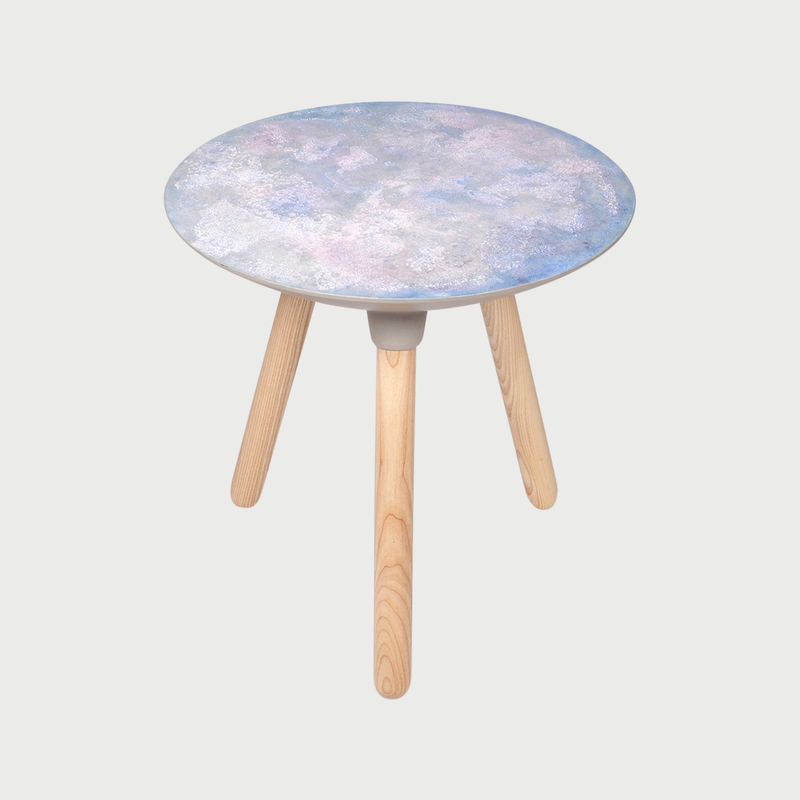 Moon side table dawn
