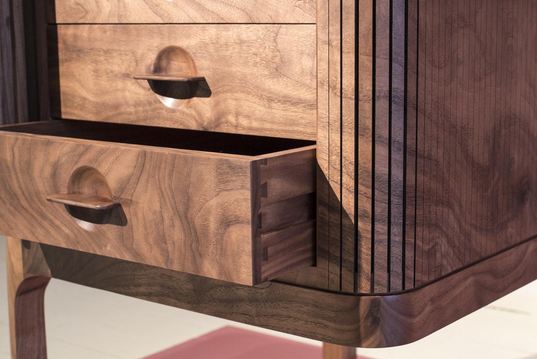 Tambour desk 4