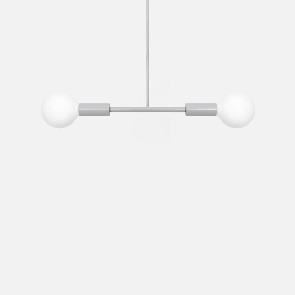Dumbbell light grey