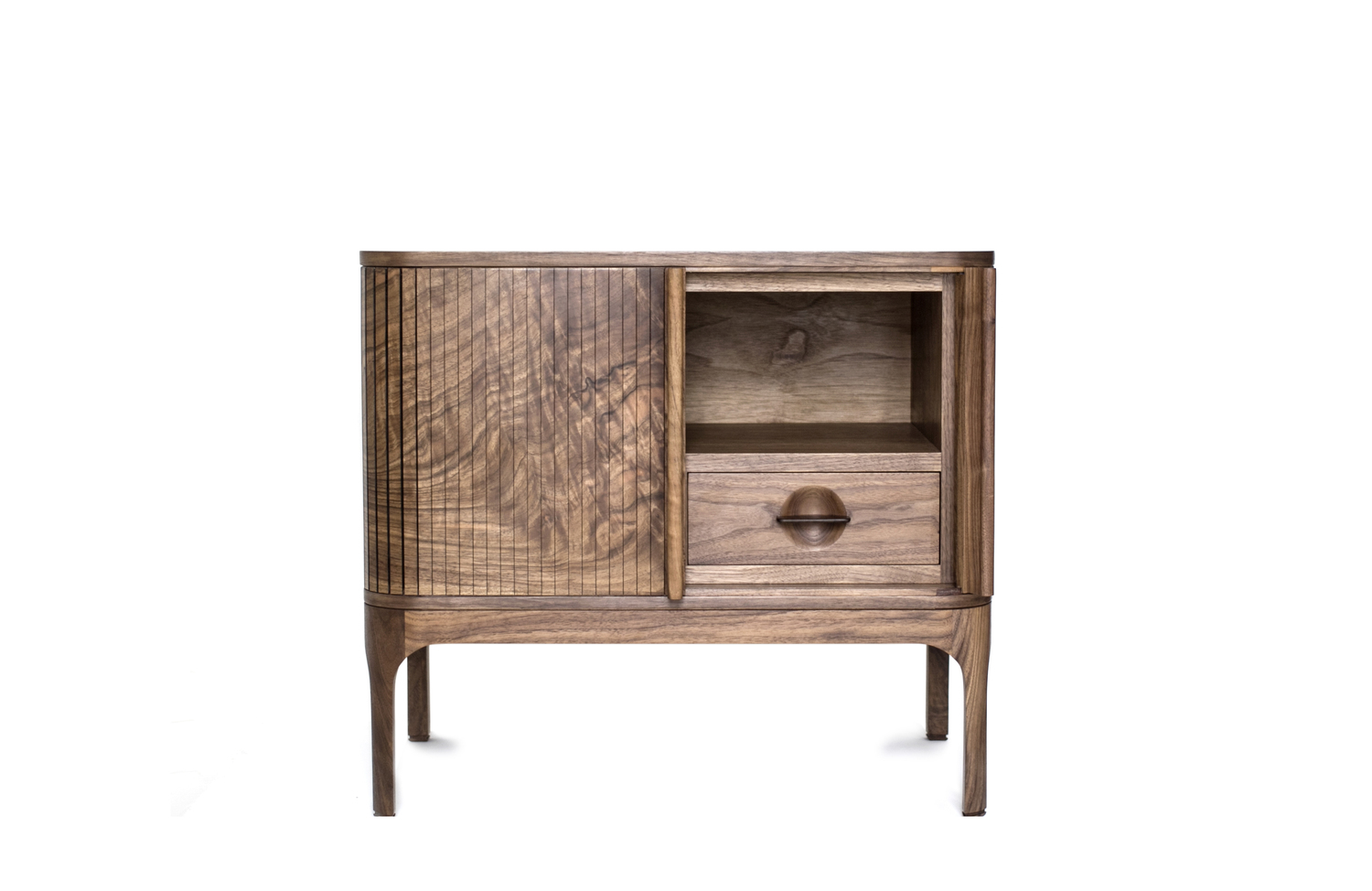Tambour side table  3