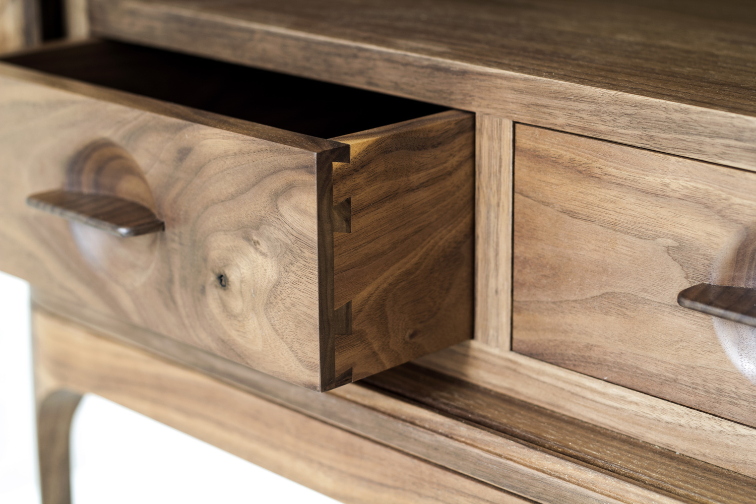 Tambour side table  7